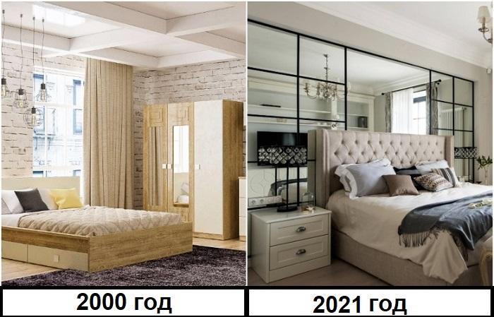 Сейчас в моде сочетание мебели разных моделей и стилей