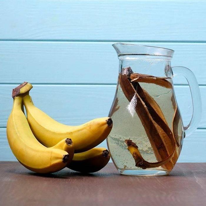 Банановая вода расслабляет организм. / Фото: Fb.ru
