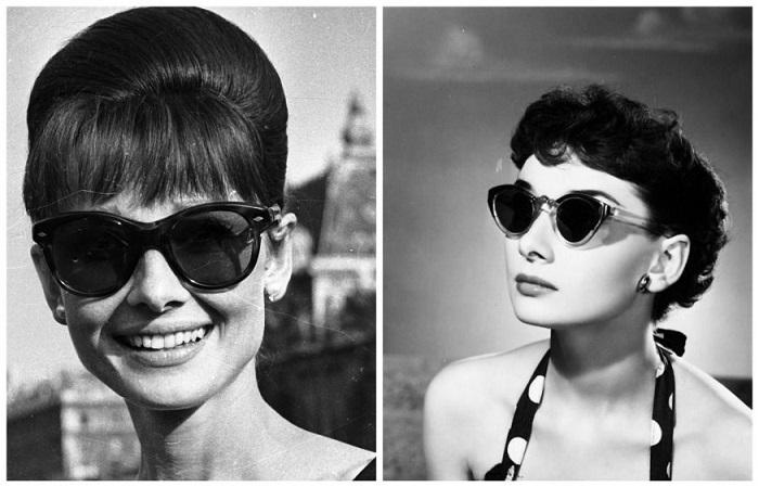По мнению актрисы, солнцезащитные очки должны быть только черного цвета