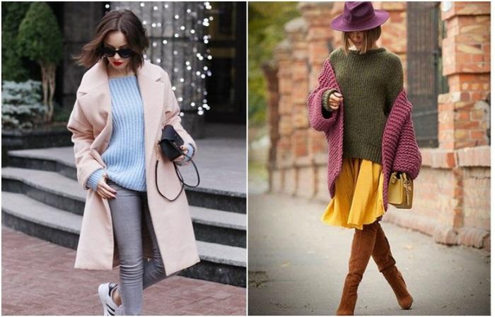 Образ более чем из трех цветов также выглядит модно