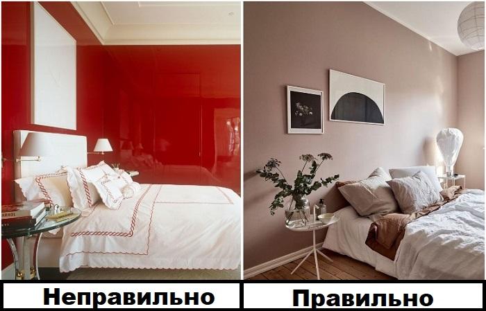 Красная глянцевая краска выглядит вызывающе