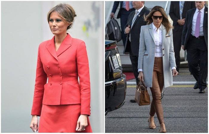 Мелания Трамп часто одевается как бизнес-леди