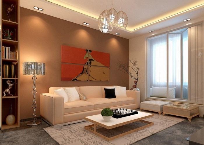 Чем ниже мебель, тем выше кажется потолок. / Фото: planirovkainfo.ru