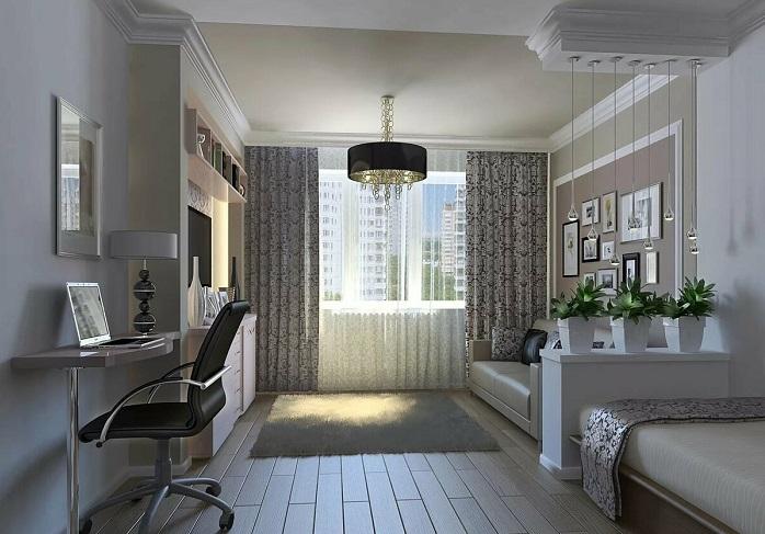 В комнате должна присутствовать только нужная функциональная мебель. / Фото: kakpostroit.su