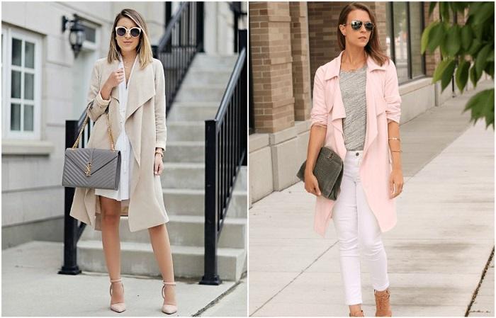 Самые популярные - летние пальто нейтральных оттенков