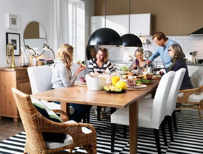 Чаще ходите в гости к друзьям кулинарам. / Фото: pinterest.ru