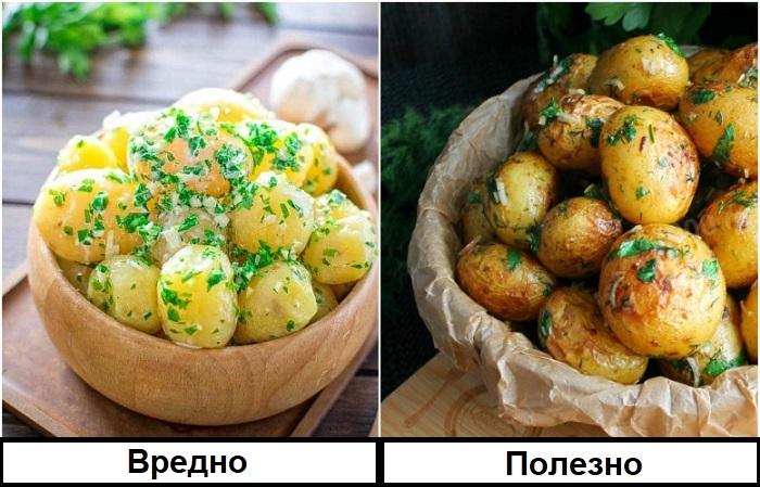 Молодой картофель стоит готовить и есть в кожуре