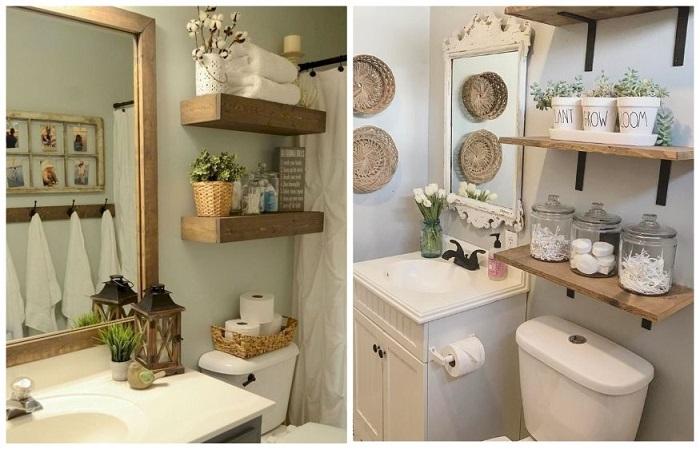 Очень важно красиво украсить ванную
