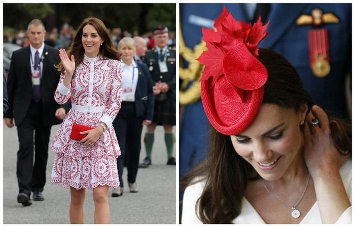 Герцогиня Кембриджская с официальным визитом в Канаде