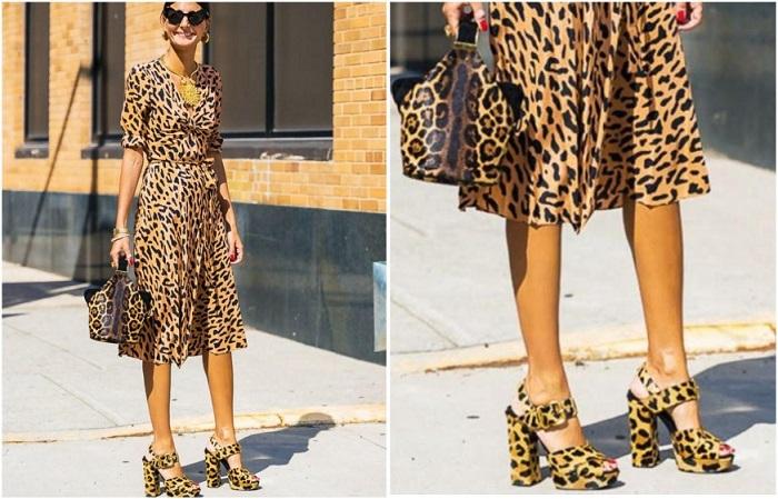 Леопардовый тотал-лук не для стильных девушек