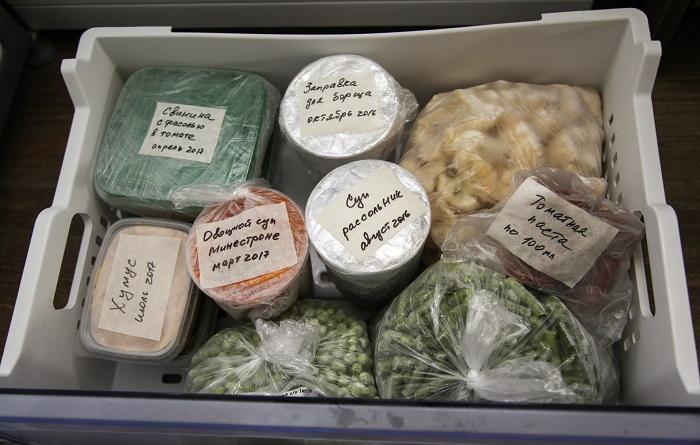 Блюда, расфасованные по контейнерам, нужно подписать. / Фото: Funpanda.ru