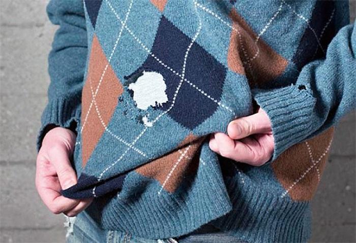 Изношенному свитеру  не место в вашем шкафу. / Фото: pinterest.ru