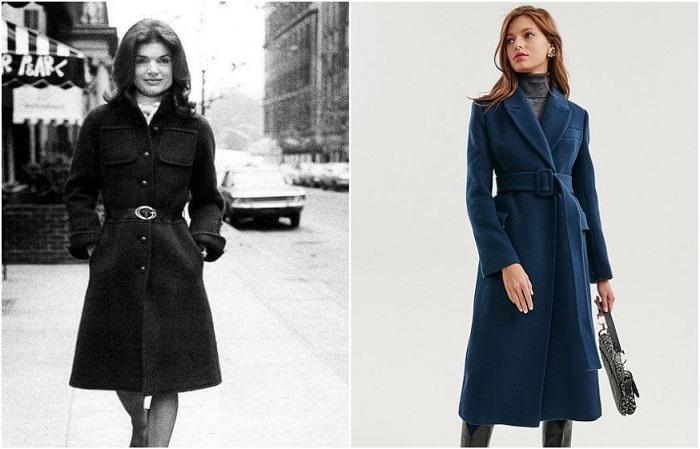 Пальто миди ввела в моду Жаклин Кеннеди