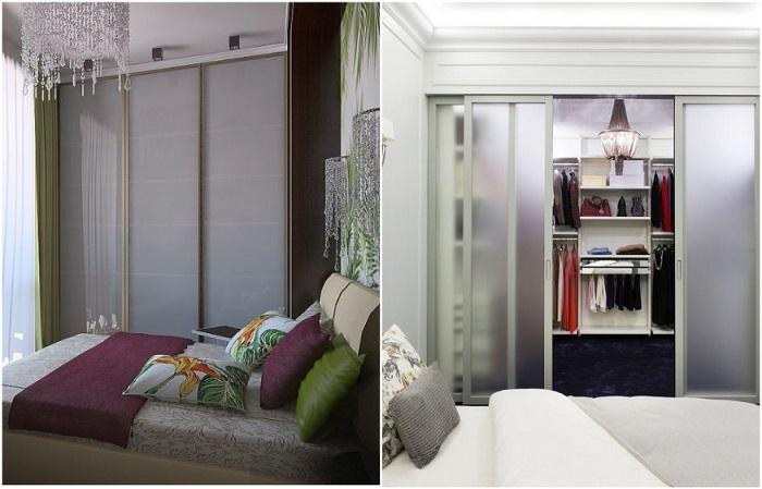 В зависимости от площади помещения, решите, что будете покупать - шкаф или гардеробную