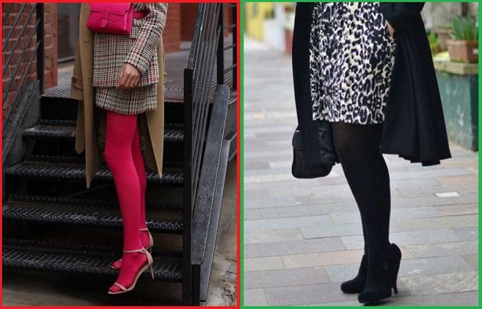 Розовые колготки вряд ли украсят кого-то