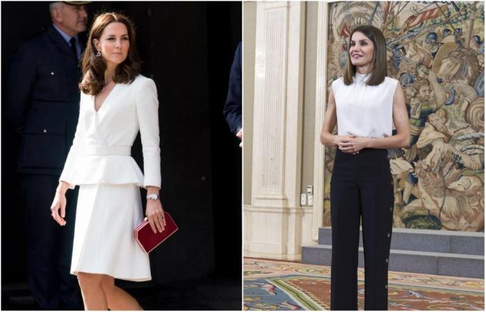 У Кейт Миддлтон и королевы Летиции всегда идеальная осанка