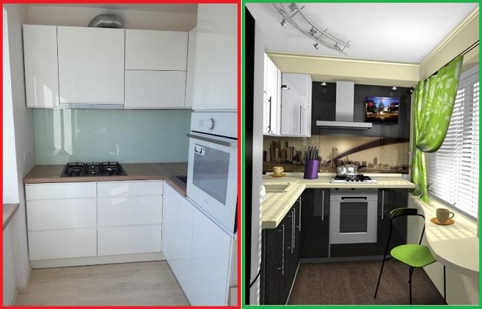 Белая кухня вышла из моды, а ее место заняла контрастная