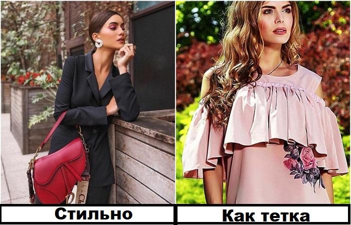 Блузы с воланами и вышивкой давно не в тренде