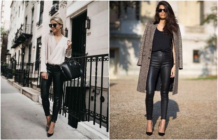 В кожаных брюках жарко летом и холодно зимой