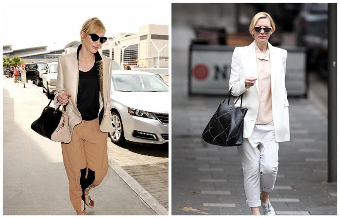 Кейт любит оригинальные костюмы и белый цвет