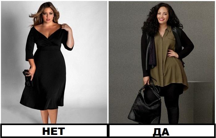 Черные вещи нужно комбинировать с одеждой другого цвета