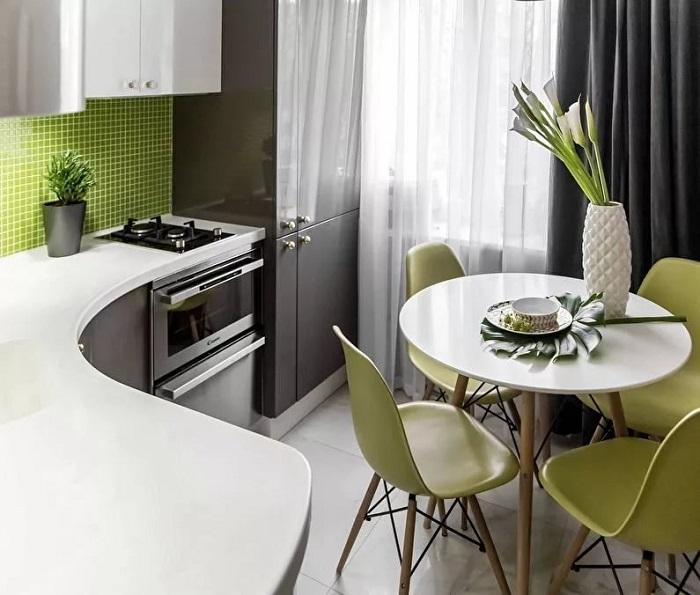 Для начала наведите порядок на кухне. / Фото: Za.pinterest.com