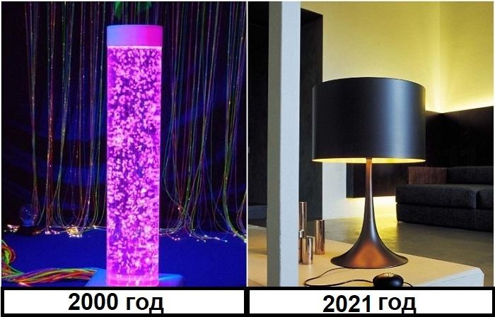 Неоновые лампы не подходят для уютных интерьеров квартир