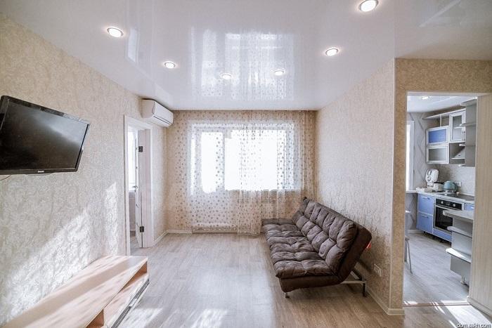 Если в квартире светлые стены, подумайте о скандинавском стиле. / Фото: mirdizajna.ru