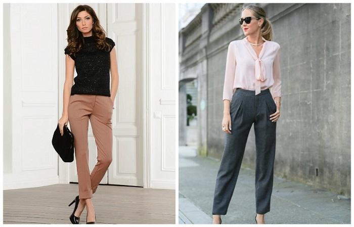 Классические брюки - неотъемлемая часть делового гардероба
