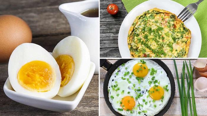 Кушать можно ка вареные, так и жареные яйца. / Фото: sportadvice.ru