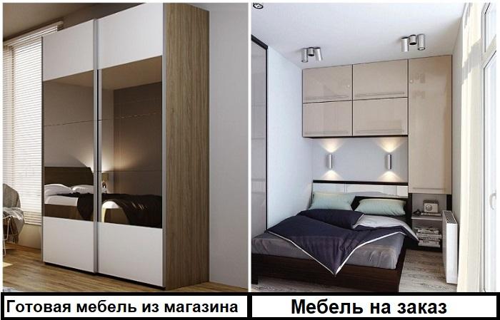 Мебель на заказ идеально вписывается в габариты комнаты, смотрится гармонично