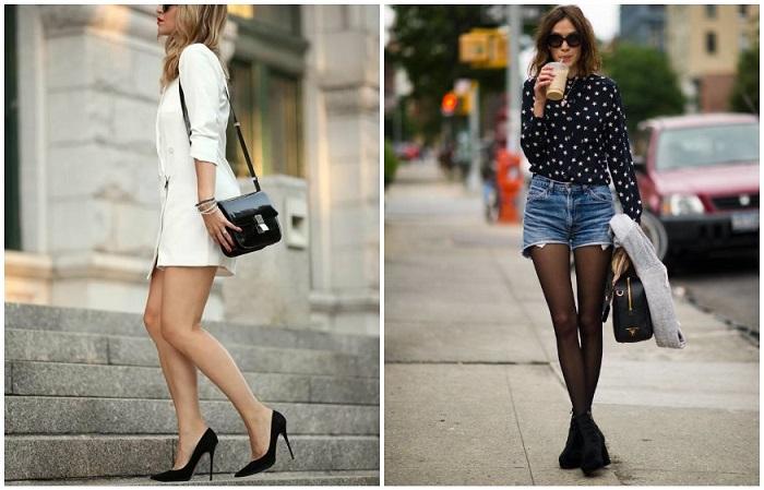 Черные модели - не единственный вариант обуви, которую можно носить