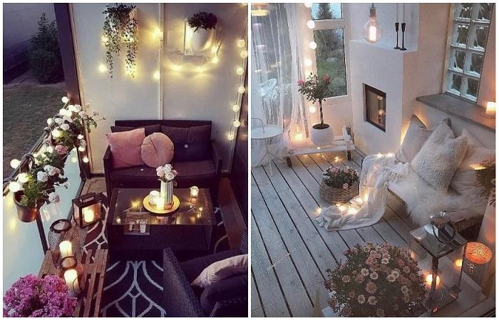 Свечи добавляют романтики в атмосферу