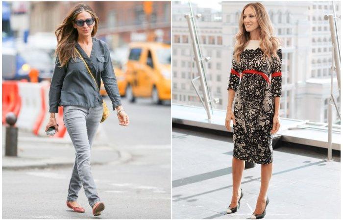 Сара Джессика Паркер любит простой и лаконичный стиль в одежде