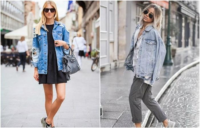 Джинсовая куртка - классический элемент гардероба