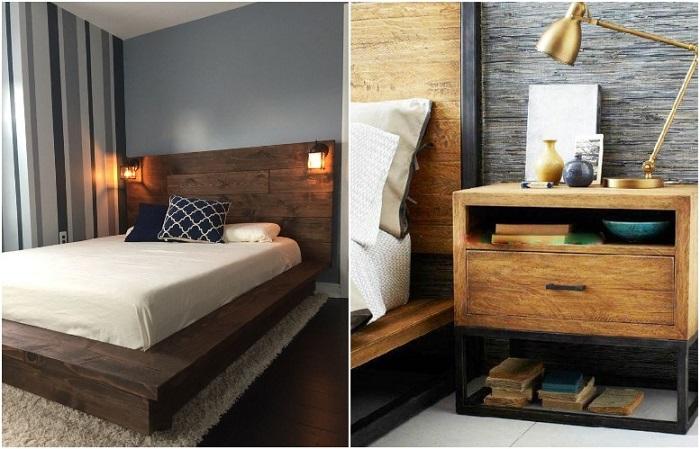 Деревянная мебель добавляет тепла и уюта