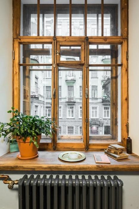 Деревянные рамы экологичные и эстетичные. / Фото: Zen.yandex.ru