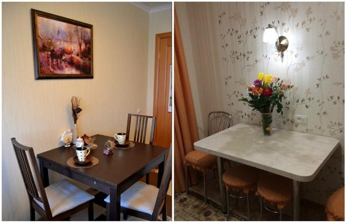Картина или ваза со свежими цветами привлекут внимание