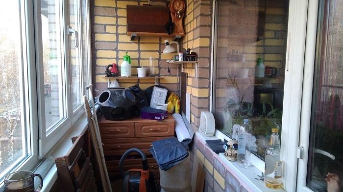 Беспорядок на балконе говорит о страхе перед переменами. / Фото: dekormyhome.ru