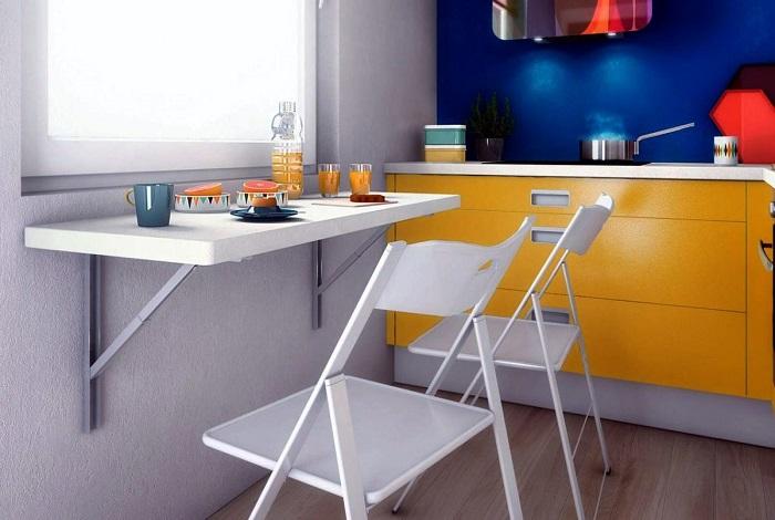 Мебель-трансформер подойдет для влюбленной пары или для одинокого человека. / Фото: vplate.ru