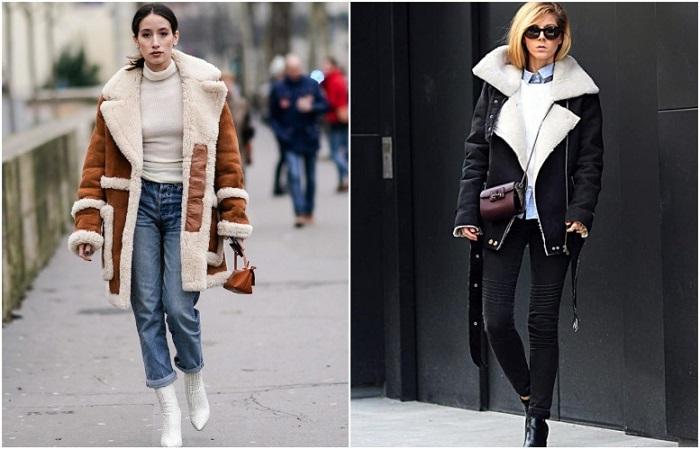 Для повседневного образа подойдут прямые голубые джинсы, а для делового - черные скинни