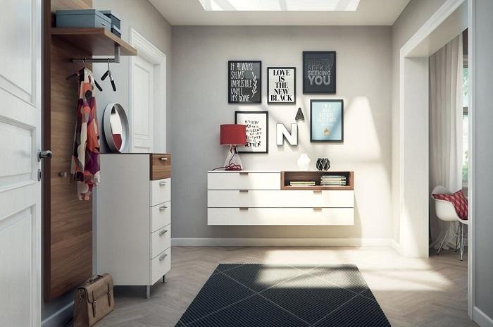 В комод можно складывать мелочи, которые постоянно теряются. / Фото: design-homes.ru