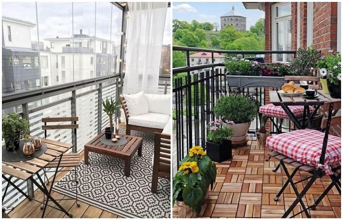 Неприхотливая садовая мебель - прекрасный вариант