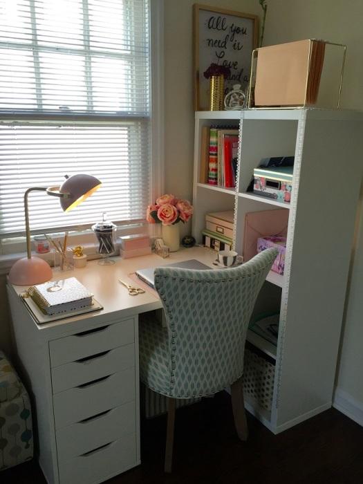 Стол для занятий любимым хобби. / Фото: Pinterest.es