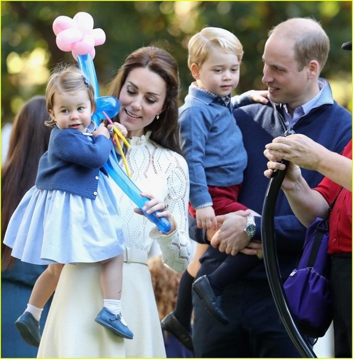 Принц Уильям, Кейт Миддлтон и их дети. / Фото: edinstvennaya.ua