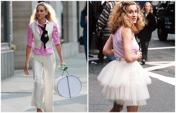 Костюм подойдет для деловых образов, юбка - для романтичных
