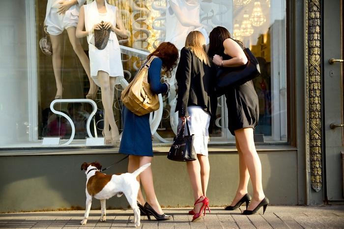 На манекенах одежда всегда выглядит красиво. / Фото: fb.ru