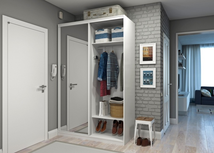 Шкаф более практичный и функциональный. / Фото: yellowhome.ru