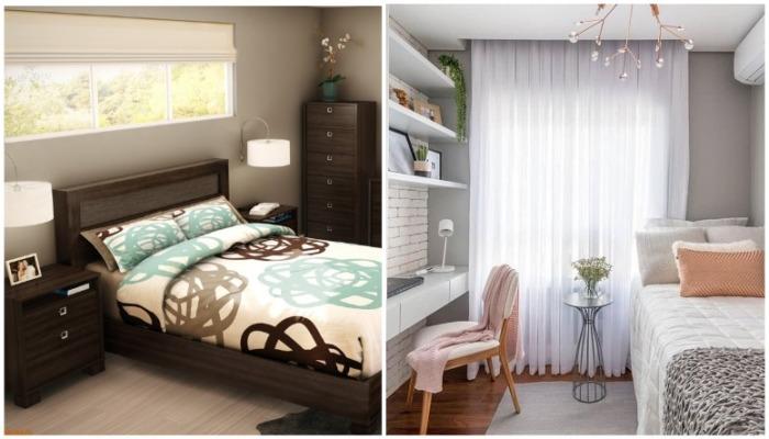 Мебельный гарнитур в спальне выглядит скучно