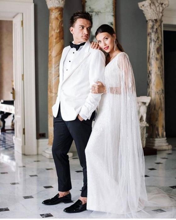 Регина Тодоренко вместе с мужем Владом Топаловым. / Фото: glamour.ru
